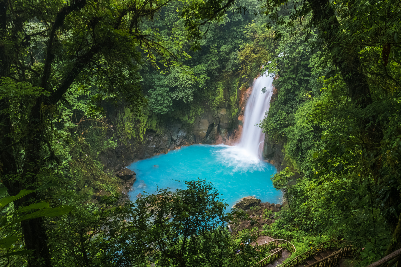 Cascade du Rio Celeste, Costa Rica